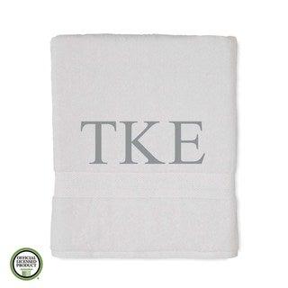 Martex Abundance Tau Kappa Epsilon Monogram Bath Towel