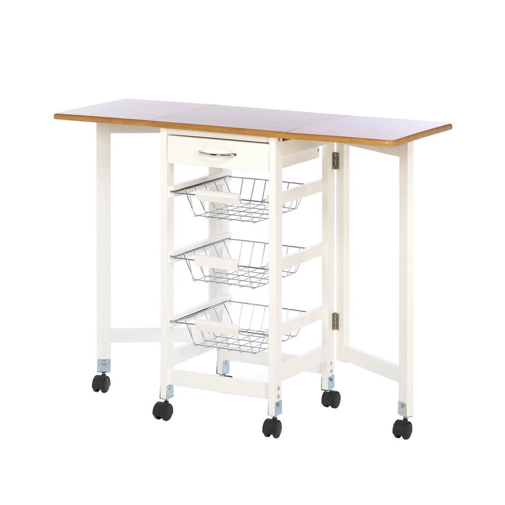 Koehler home decor Extended Kitchen Table Trolley (Trolle...