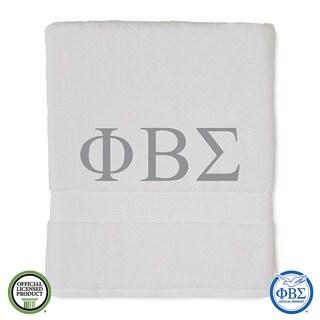 Martex Abundance Phi Beta Sigma Monogram Bath Towel