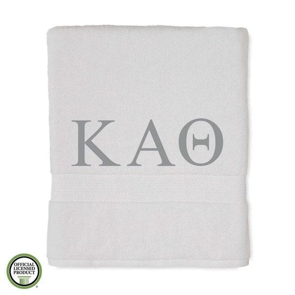 Martex Abundance Kappa Alpha Theta Monogram Bath Towel