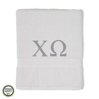 Martex Abundance Chi Omega Monogram Bath Towel