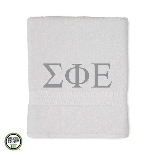 Martex Abundance Sigma Phi Epsilon Monogram Bath Towel