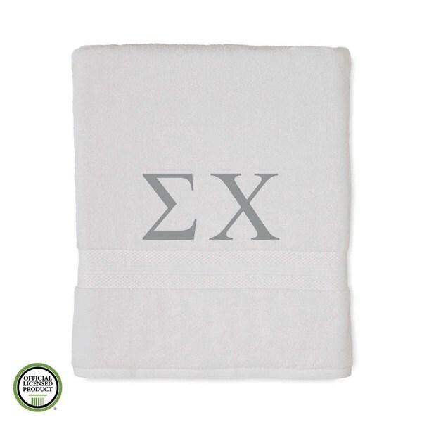 Martex Abundance Sigma Chi Monogram Bath Towel