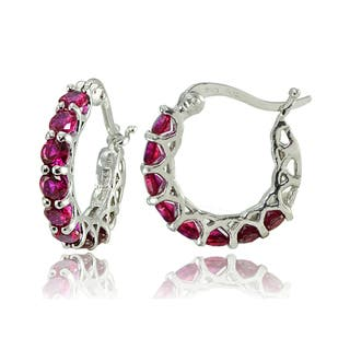 8f45920b0 Buy Red Gemstone Earrings Online at Overstock | Our Best Earrings Deals