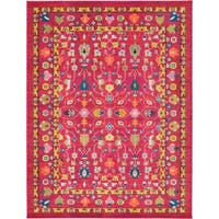 Unique Loom Paradise Medici Area Rug - 9' x 12'