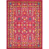 Unique Loom Paradise Medici Area Rug - 8' X 11'