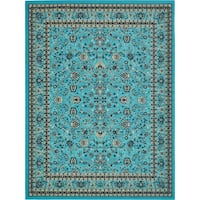 Unique Loom Washington Sialk Hill Area Rug - 9' 10 x 13'