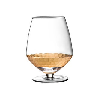 Daphne Gold Pinot Wine Glasses - Set of 4