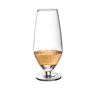 Daphne Gold Prosecco Wine Glasses- Set of 4