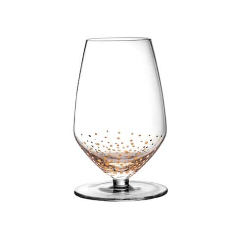 Gold Luster Sauvignon Wine Glasses - Set of 4