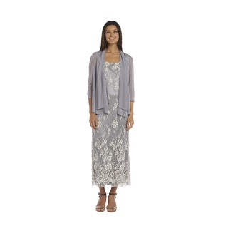 R&M Richards Grey Jacket Dress