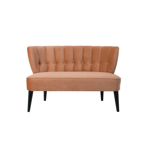Excellent Shop Jennifer Taylor Becca Tufted Settee 52Lx28Wx34H Pdpeps Interior Chair Design Pdpepsorg