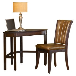 Hillsdale Furniture Solano Cherry Wood Desk and Chair Set