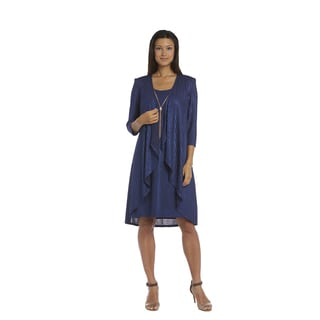 R&M Richards Navy Jacket Dress