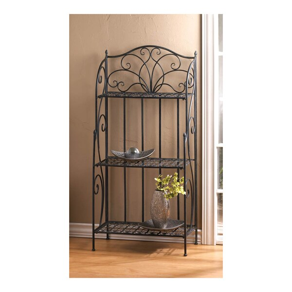 Shop koehler home decor divine bakers rack free shipping for Koehler home decor