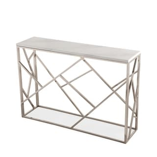 Gayle Silver Console Table