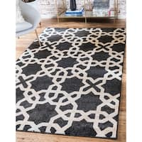 Unique Loom Charlotte Trellis Area Rug - 9' x 12'