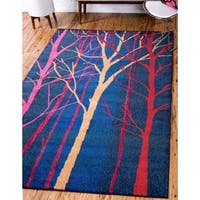Unique Loom Collserola Estrella Area Rug - 8' X 11'