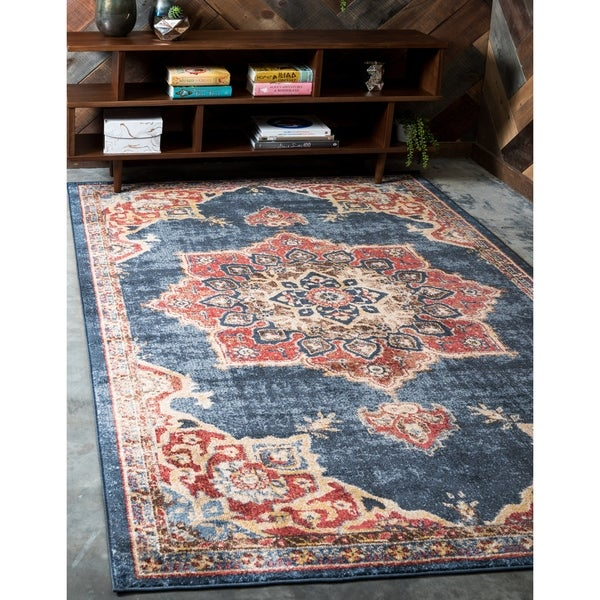 Shop Unique Loom Helios Utopia Area Rug - 9' x 12' - Ships To Canada