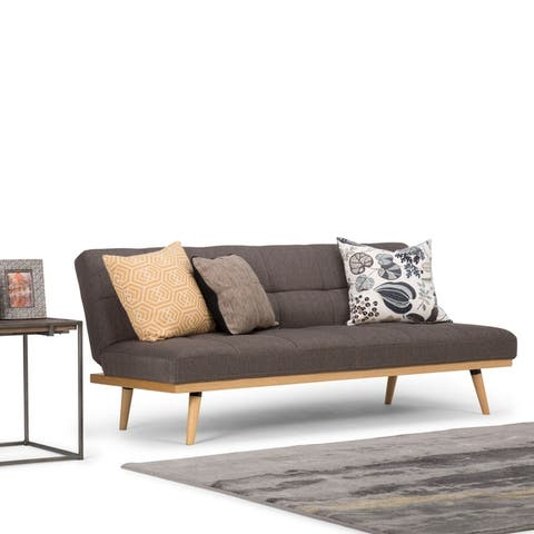 """WYNDENHALL Duncan Contemporary 72 inch Wide Sofa Bed - 70.9""""W x 32.3""""H x 30.3""""D"""