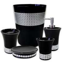 Glam 5 Piece Bath Accessory Set or Separates