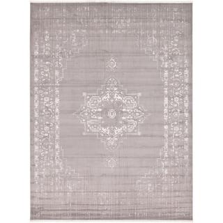 Unique Loom Attiki New Classical Area Rug (Gray - 10 x 13)