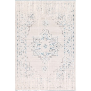 Unique Loom Attiki New Classical Area Rug (Ivory - 8 x 114)
