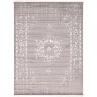 Unique Loom Attiki New Classical Area Rug (Gray - 9 x 12)
