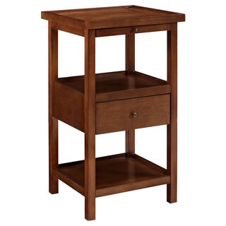 Palmer Cherry Table with Shelf