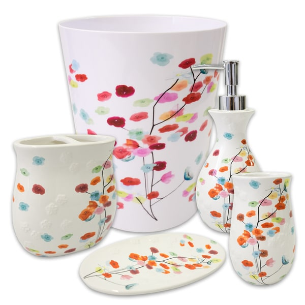 Mansi 5 Piece Bath Accessory Set or Separates