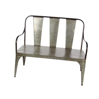 Country Side Metal Bench
