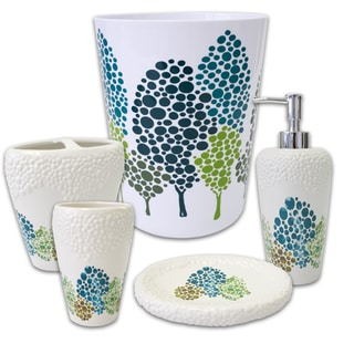 Dasos 5 Piece Bath Accessory Set or Separates