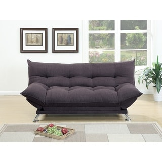 Rio Polyfiber Plush Sleeper Sofa (Option: Yellow)