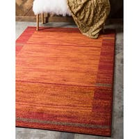 Unique Loom Autumn Foilage Area Rug - 9' x 12'
