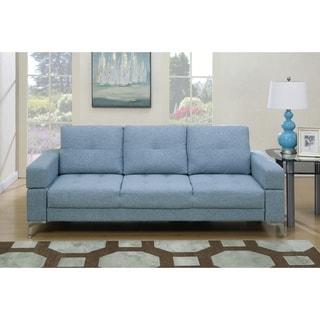 Alice Fabric Upholstered Adjustable Sleeper Sofa