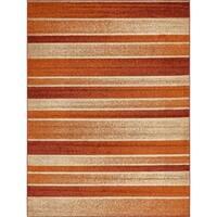 Unique Loom Autumn Artisanal Area Rug - 9' x 12'