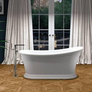 "Maykke 68"" Ella Freestanding Bathtub|https://ak1.ostkcdn.com/images/products/16327052/P22689263.jpg?impolicy=medium"