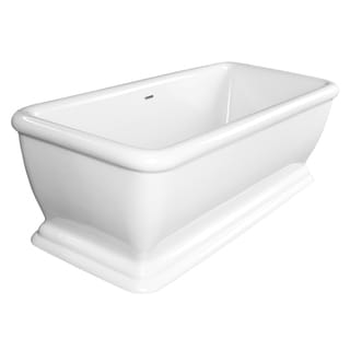 """Maykke 69"""" Florence Freestanding Bathtub"""