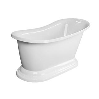 "Maykke 67"" Frances Freestanding Bathtub"