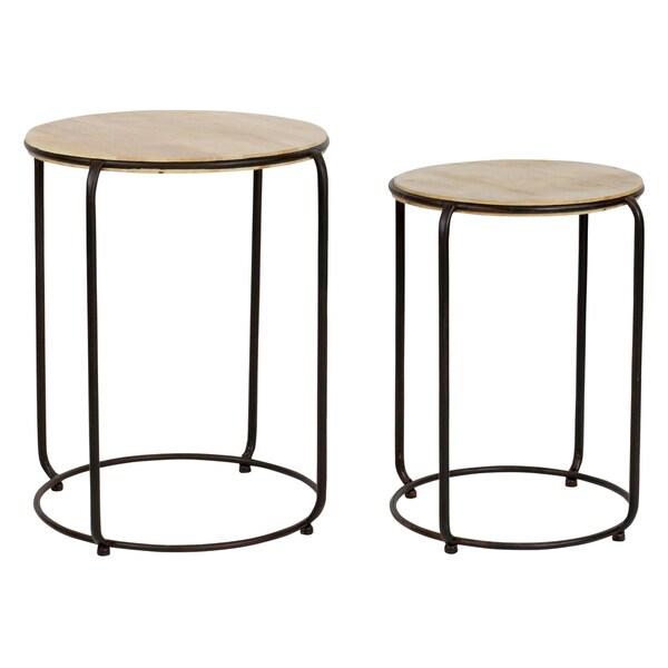 Katelyn Round Nesting Tables (Set of 2)