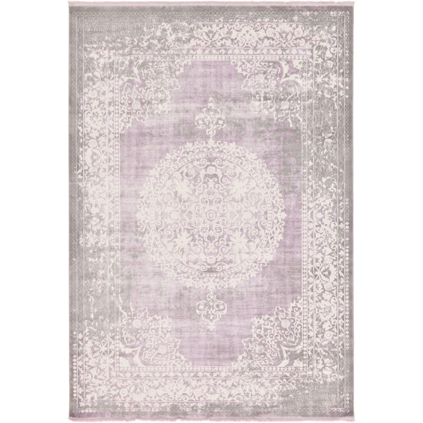 Unique Loom Olwen New Classical Area Rug - 8' x 11' 4