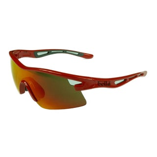 Bolle Men's Sport Cycling Red w/ TNS Fire Lens Sunglasses