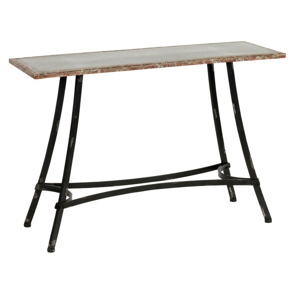 Deniz Farmhouse Distressed Console Table