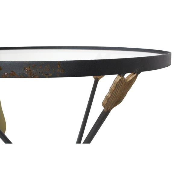 Arrow Metal Accent Table Free Shipping Today