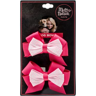 Miranda Lambert's Mutt Nation Dog Bow Set