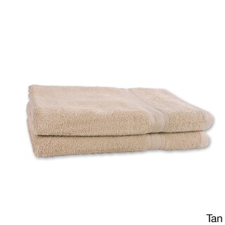 Cozelle 34-inch x 64-inch Bath Sheet Towels (Set of 2) (Option: Tan)