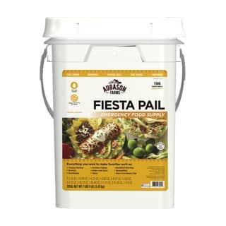 Augason Farms Fiesta Pail, Emergency Food Supply, Mexican Food|https://ak1.ostkcdn.com/images/products/16327172/P22689409.jpg?impolicy=medium