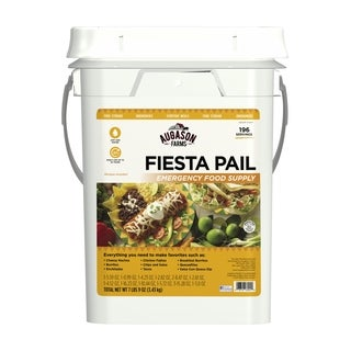 Augason Farms Fiesta Pail, Emergency Food Supply, Mexican Food