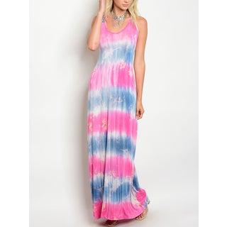 JED Women's Tie Dye Maxi Dress