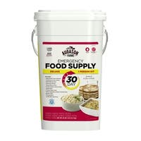 Augason Farms Deluxe Emergency 30-day Food Supply (1 Person), 200 Servings, 36,600 Calories, Net Weight 20 Pounds 7 Ounces
